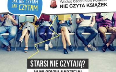 """,,Jak nie czytam?, Jak czytam!"""" – akcja czytelnicza 10 czerwca 2016 r."""