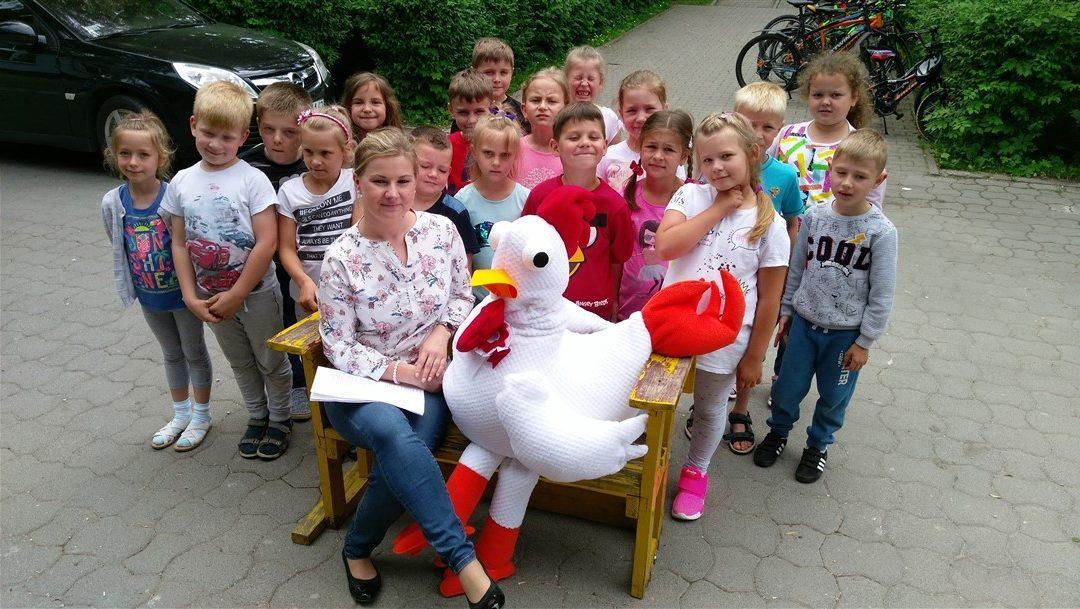 Kogutek Gutek odwiedził Poskwitów! – relacja