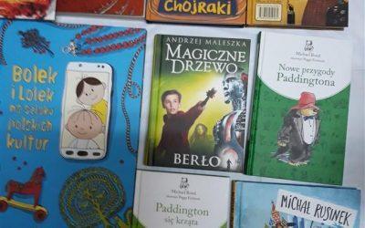 Nowości książkowe w  Bibliotece w Sieciechowicach