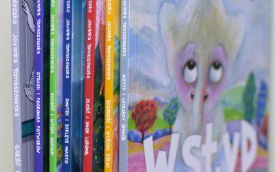Nowości dla dzieci w bibliotece w Iwanowicach.