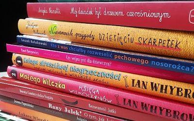 Nowości wydawnicze dla dzieci w bibliotece w Iwanowicach!!!