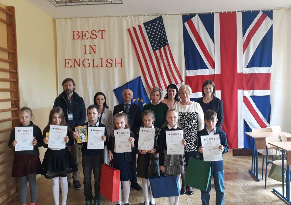 """Powiatowy Konkurs Języka Angielskiego """"Best In English"""""""