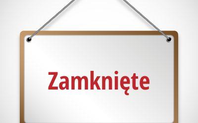 W czwartek 7 XI 2019 Biblioteka w Iwanowicach będzie nieczynna.