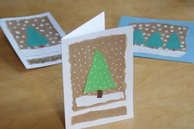 Warsztaty plastyczne – kartka świąteczna.