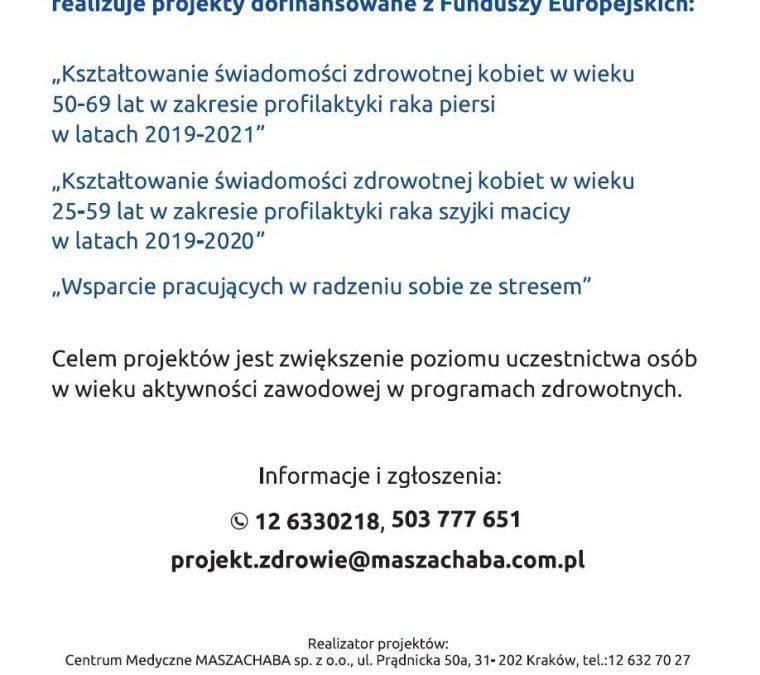 Programy prozdrowotne dla mieszkańców
