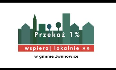Przekaż 1% Gminie Iwanowice!