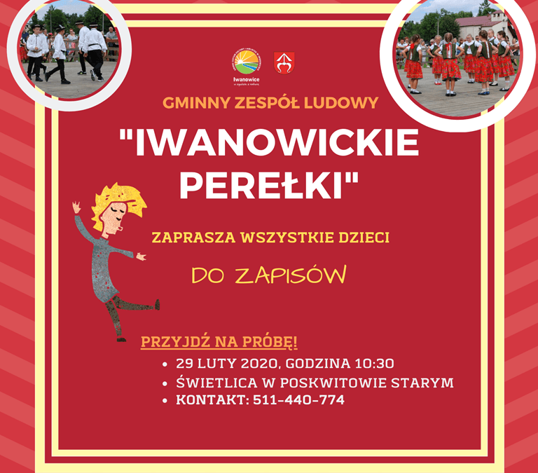 """Gminy Zespół Ludowy """"Iwanowickie Perełki"""""""