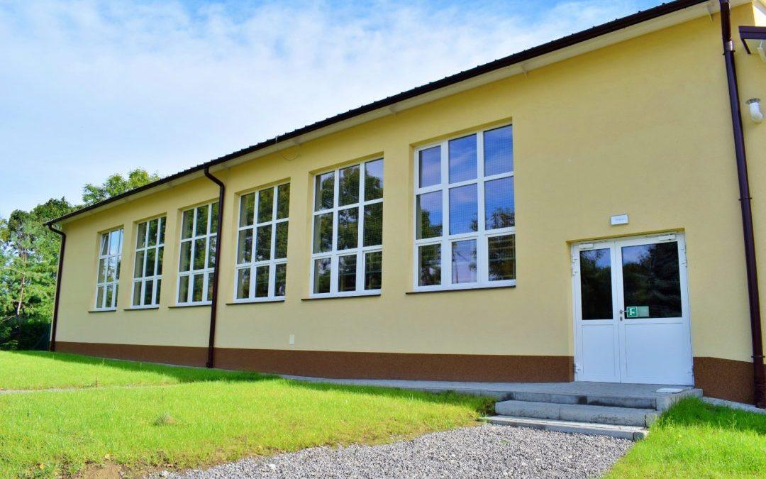 Nowa sala gimnastyczna w Sieciechowicach