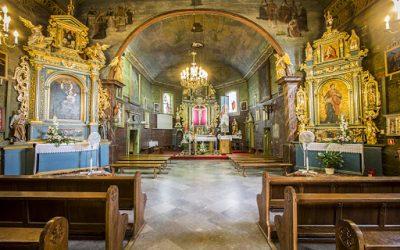 Legenda o kościele w Iwanowicach
