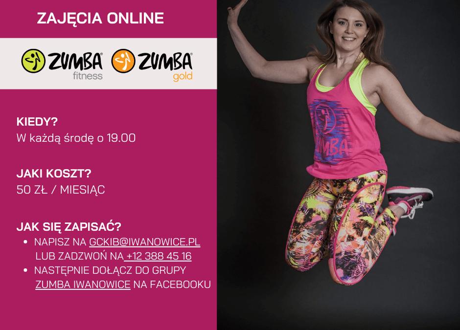 Zumba online nadal trwa!