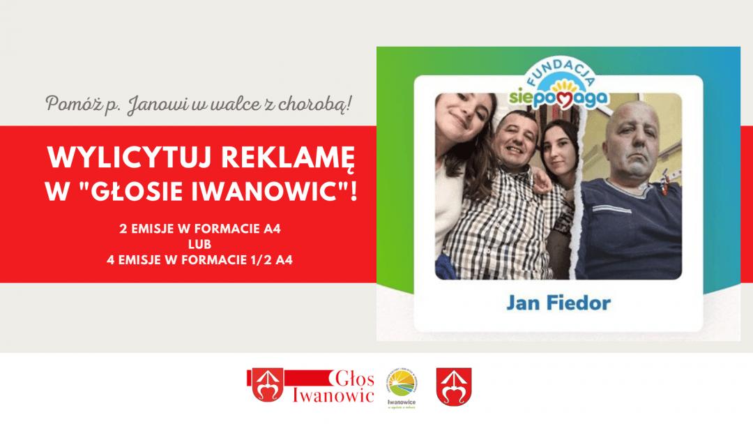 """Wylicytuj reklamę w """"Głosie Iwanowic""""!"""