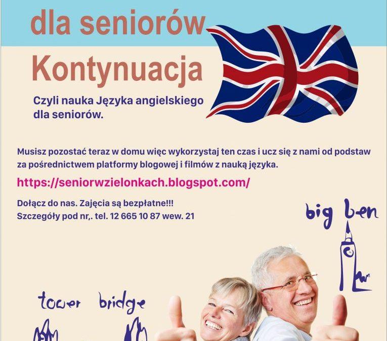 Angielski dla Seniorów