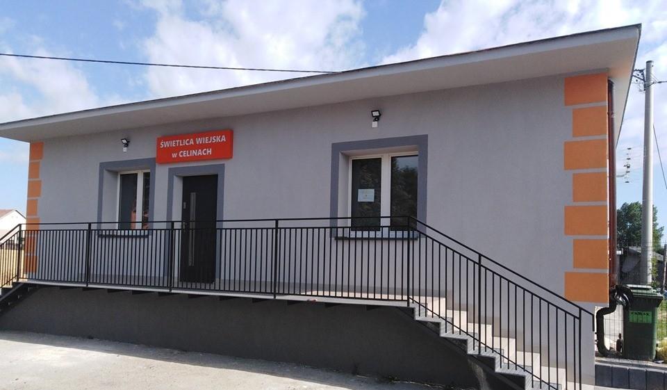 budynek Świetlicy wiejsckiej w Celinach