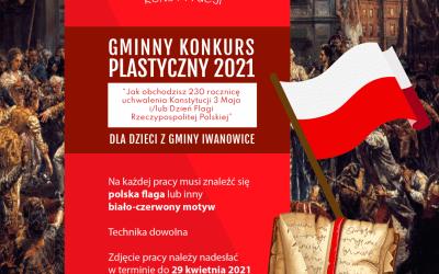 KONKURS – Jak obchodzisz 230 rocznicę uchwalenia Konstytucji 3 Maja i/ lub Dzień Flagi Rzeczypospolitej Polskiej!!!